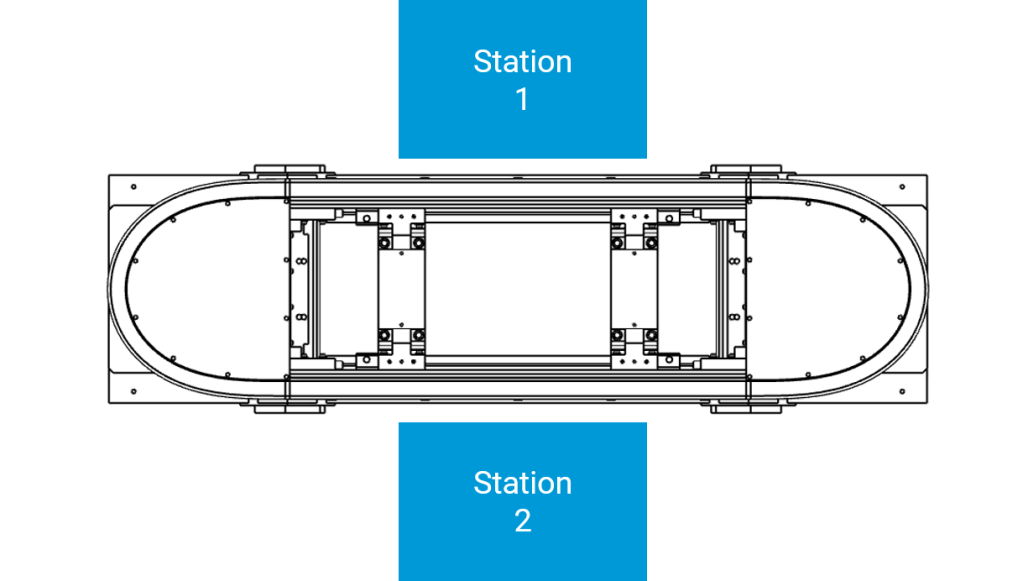 2 station cell